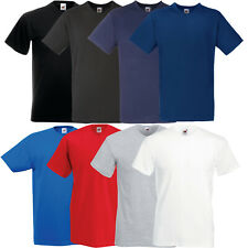 5er/10er FRUIT OF THE LOOM T-SHIRT V-NECK V-AUSSCHNITT SHIRTS VALUEWEIGHT TSHIRT