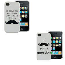 Funny Humorous Moustache Case Tash  Cover Samsung Apple Blackberry iPhone iPod