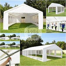Tendone 3x3 - 6x12 Gazebo per party e feste telone PE o PVC bianco