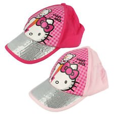 Girls Hello Kitty Baseball Cap   HK3127        2 colours available   £4.99