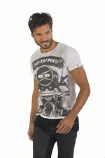 SE180502 T-SHIRT SPYKE MAN A2 ORIGINAL BIKERS JEANS 100% MADE IN ITALY MAGLIA