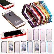 For Apple iPhone 5 5S 5G Luxury 0.7mm Aluminum UltraThin Frame Bumper Case Cover