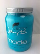 Johnny B Mode Styling Gel (64oz) Medium Hold All Hair Type Flake Free Pro Barber
