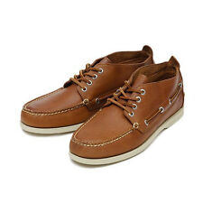 Sperry top sider a/o chukka brown leather boat shoes men's  STS10070