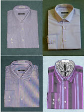 New Mens Shirt - Pure 100% Cotton Long Sleeve Shirt