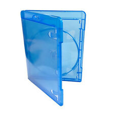 Single Slim Blu ray Case 11 mm Spine New Replacement Disc Amaray UK Free Del