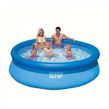 Intex 8ft 10ft 12ft 15ft Easy Set Round Swimming Pool no Pump Filter