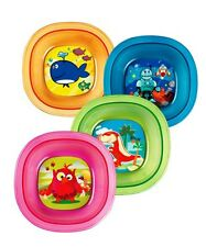 MUNCHKIN TODDLER BOWL DECO, NO SLIP GRIP, 4 COLORS TO CHOOSE FROM