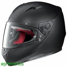 Nolan N64 SMART Casco Moto - opaco nero