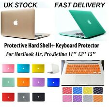 Rubberized Hard Case Shell + Keyboard Cover for Macbook Pro Retina Air 11 13 15