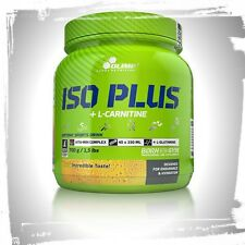 Olimp ISO Plus L-Carnitine Powder Isotonic Energy Drink L-glutamine Carbohydrate