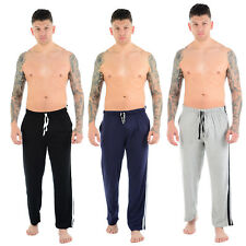 MENS GENTS BOYS COTTON LOUNGE WEAR PANTS TROUSERS PYJAMAS BOTTOMS PJS JOGGERS