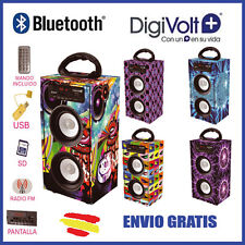 ALTAVOZ Bluetooth DIGIVOLT BT-2008 SONIDO POTENTE SUBWOFER Bateria iPHONE TABLET