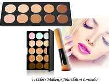 New Concealer Contour Face Makeup Cream Camouflage Neutral Palette with Brush