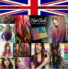 Quality Hair Chalk In Nontoxic Temporary Hair Chalk Colour Dye Soft Pastels DIY