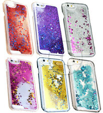 Glitter Bling Stars Liquid Novelty Colourful Fits iPhone Case 4 S 5 5S 5C 6 Plus