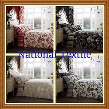 RICHMOND Duvet Quilt cover sets,or With Fitted Sheet  Or Curtains