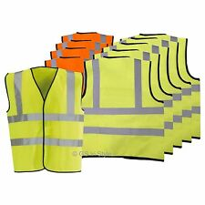 KIDS AND BABY HI-VIS VESTS JOB LOT WAISTCOATS FOR SECURITY OR ANY JOB