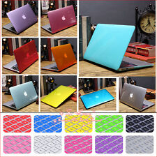 "Crystal Hard Case Cover+Keyboard Skin for MacBook 12""/ Air Pro Retina 11"" 13""15"""