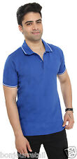 Mens Striped Polo Neck T-Shirt From Bongio _RMS5A2007A