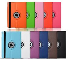 PU Leather 360 Degree Rotating Smart Stand Case Cover For APPLE iPad models