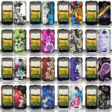 Fashion Design Hard Case Protective Snap-On Plastic Cover Skin For HTC