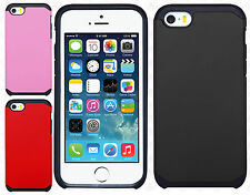 Apple iPhone 5 5S HARD Astronoot Hybrid Rubber Silicone Case Cover +Screen Guard