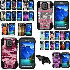 Case for Samsung Galaxy S5 Active Shell Silicone Stand Image Designs Cute Cool