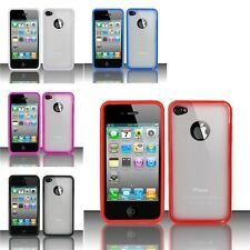 For iPhone 4/4s (AT&T/Verizon/Sprint) TPU + PC Cover Case