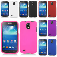 For Samsung Galaxy S4 S IV Active i537 Rubberized Hard Case Snap On Phone Cover