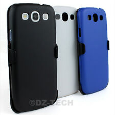 For Samsung Galaxy S III 3 S3 3 in 1 Combo Case Cover Belt Clip Holste