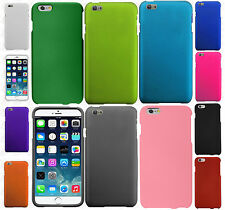 Apple iPhone 6 Plus 5.5 Rubberized HARD Protector Case Cover +Screen Protector