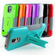 For Samsung Galaxy S5 SV Premium Hybrid Heavy Duty Defender Kickstand Case Cover