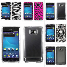 For Samsung Galaxy S2 S II i9100 i9100G Colorful Design Hard Case Snap OnCover