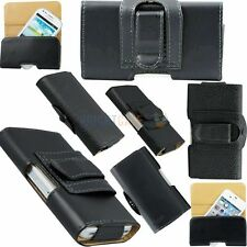Newest Black PU Leather Holster Belt Clip Case Cover Pouch For Apple iPhone 4 4S