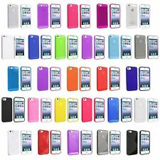 Ultra Thin TPU Crystal Shell Soft Case Protective Skin Cover For iPhone 5 Clear