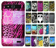 For Boost Mobile ZTE Speed N9130 Rubberized Hard Protector Case Snap Phone Cover