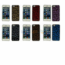 NEW Luxury Glossy Glitter Cheetah Chrome Hard Case Cover For Apple iPhone 5 5G