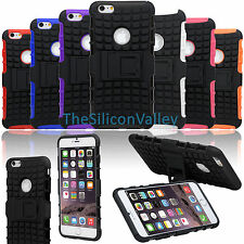 Rubber Armor Hybrid Best Impact Hard Case Back Cover For Apple iPhone