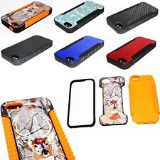For Apple iPhone 5C Lite Hybrid Hard Dual Layer Case Skin Phone Cover Accessory