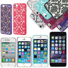 Apple iPhone 4 4S 5 5S 6 6 Plus Lace TPU Hard Back Slim Case Skin Phon