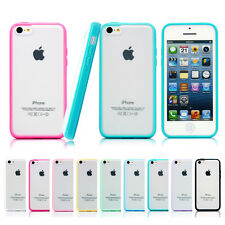 Hard Matte Clear Back Case with Soft Silicone TPU Bumper Cover for App