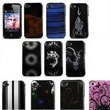Plastic Design Hard Case Snap On Phone Cover For Apple iPhone 4 , 4S A