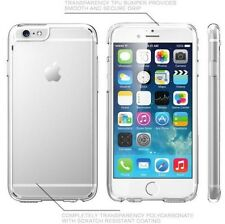 "Apple iPhone 6 Plus 5.5"" case TPU Bumper Slim Transparent Clear Hard B"