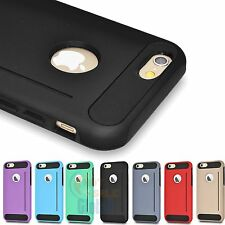 "For iPhone 6 4.7"" Tough Hybrid Armor Shockproof Slim Case Protective Cover Skin"