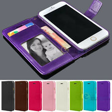 New Leather Flip Cover Credit Card Wallet Case Skin for Apple iPhone 5 5s