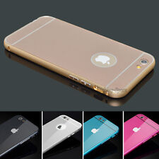 "Aluminum Ultra-thin Metal Case Bumper Cover Skin For iPhone 6 4.7"" , 6"