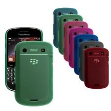 Rubberized Snap On Back Hard Cover Shell Case for Blackberry Bold 9900