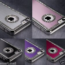 Luxury Brushed Matte Aluminum Chrome Hard Case Cover For Apple iPhone