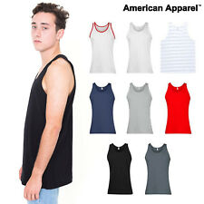 American Apparel Tank top vest Unisex fine jersey T 8 colours